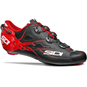 Sidi Shot Shoes Men Matt Black/Red
